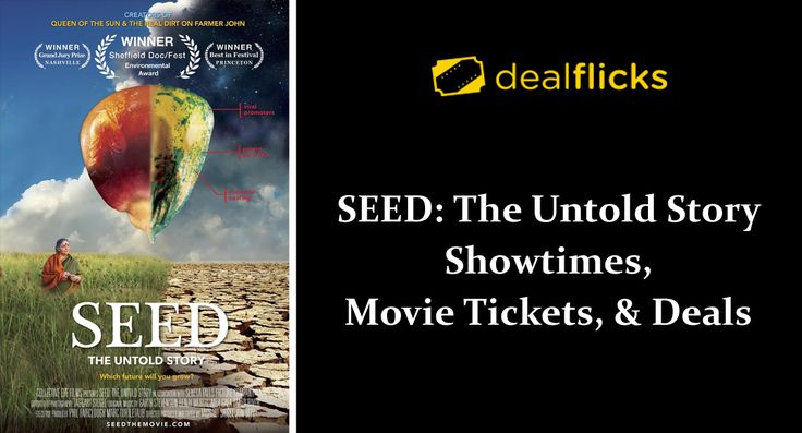 #DealFlicks Seed : The Untold Story Showtimes, Movie Tickets, & Deals  #movie #films #tickets #coupon #Cinema #deals