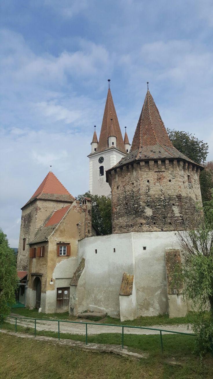 Biserica fortificata din Cristian, Sibiu, România