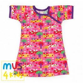 Mus 4 kids jurk met leuke picknick print. Zomercollectie 2014.