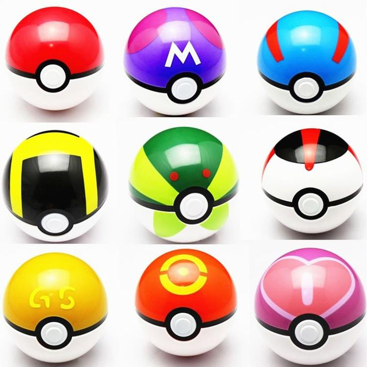 9pcs/set 7cm Pokemon Pokeball ABS Figures Japanese Hot Anime Pokemon PokeBall Toys Cosplay Collections Gifts #F