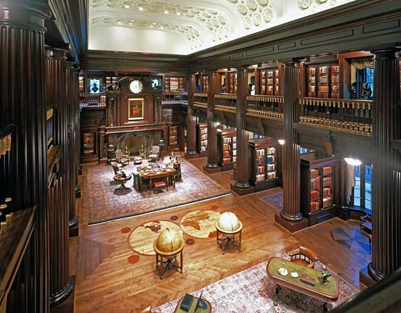Amazing+Home+Libraries | Jay Walker's Amazing Private Library - Professional Soldiers ®