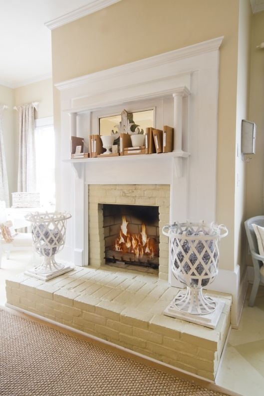 master bedroom fireplace decor and home project ideas pinterest. Black Bedroom Furniture Sets. Home Design Ideas
