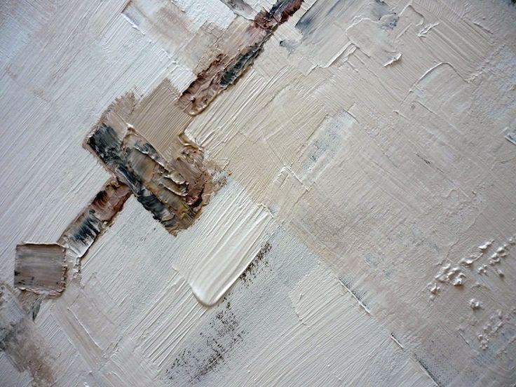 Peinture fraiche : skyline #2 Acrylique sur toile