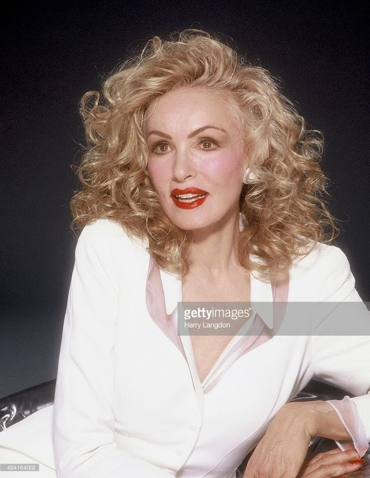 Actress Julie Newmar poses for a portrait in 1988 in Los Angeles, California.