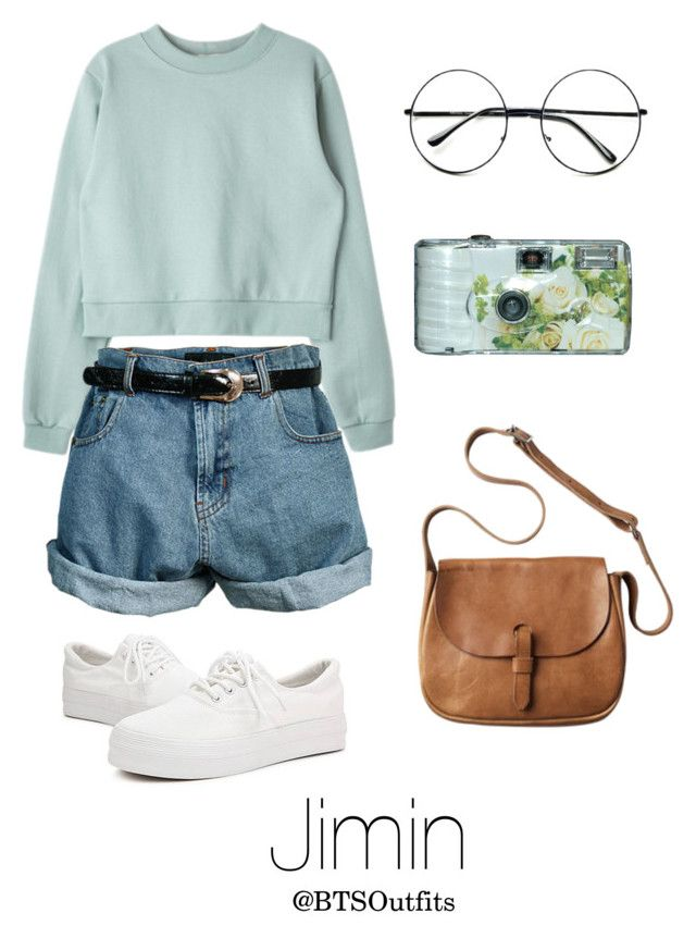 Picnic Date with Jimin by btsoutfits on Polyvore featuring polyvore, fashion, style, Retrò, Toast and clothing