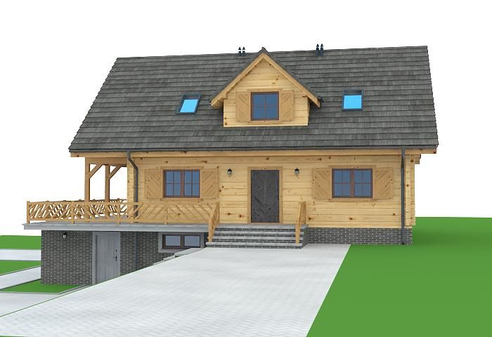 Dom-Projekt. Projekt domu milicz 19