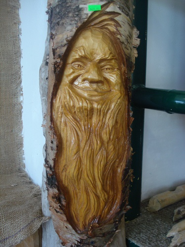 Best images about wood spirits on pinterest portrait