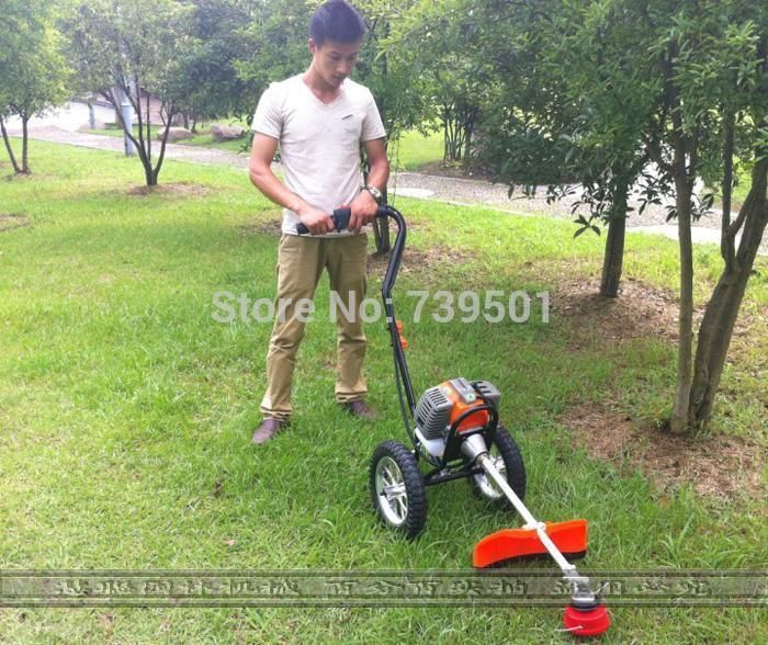 Mower Cart Brush Cutter Petrol Lawn Mower Stramework Harvestable Weeding Machine Lawn Mower From Wangsixing168, $207.33 | Dhgate.Com