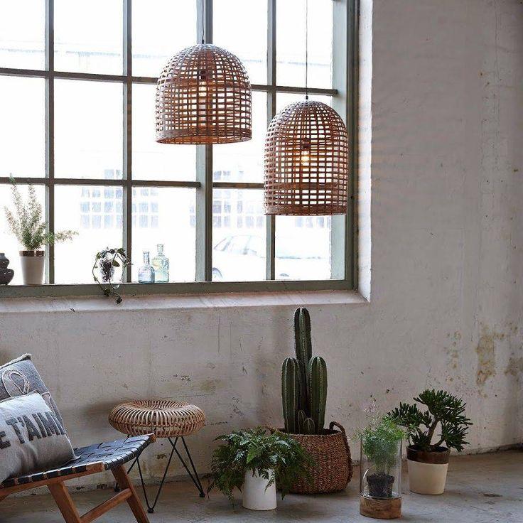 Hubsch bamboe hanglamp: Een fraaie eigentijdse lamp. TIP! - BRIC.
