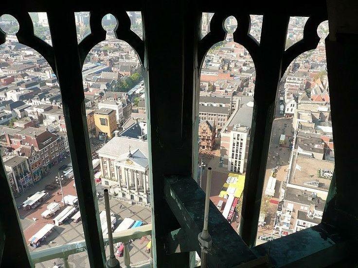 Martinitoren - zicht op Stadshuis