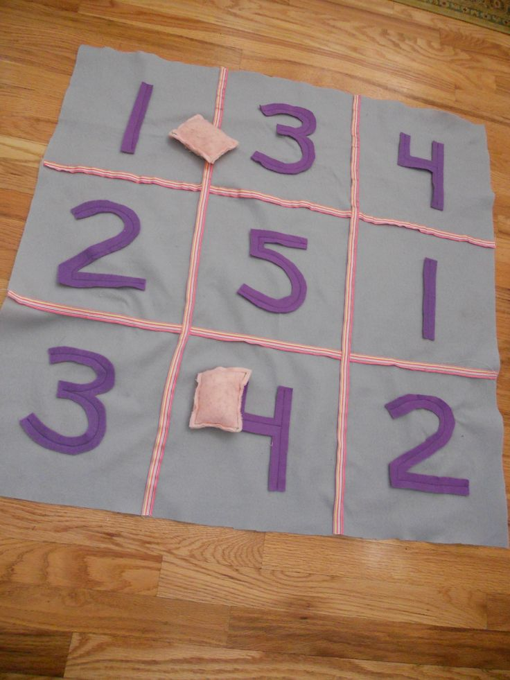 Math Toss Game - Great math practice