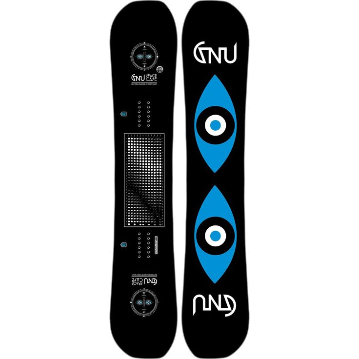 Gnu Forest Bailey Space Case EC2 BTX Snowboard Black 147cm
