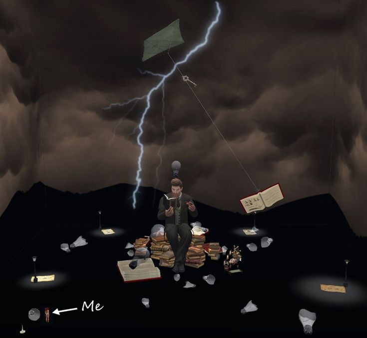 Carmsie Melodie's BIG SL 3D Artwork, for UWA's 'Persue Impossible' Art Challenge.