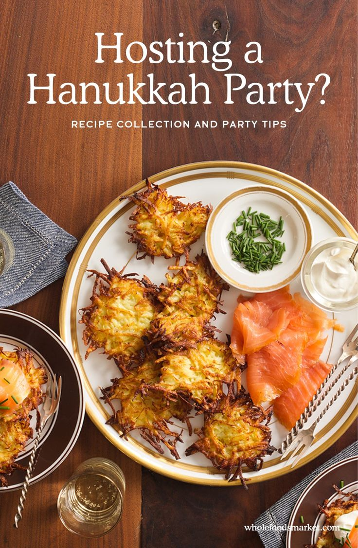 Hosting a Hanukkah Party? // Recipes and Entertaining // Whole Foods Market