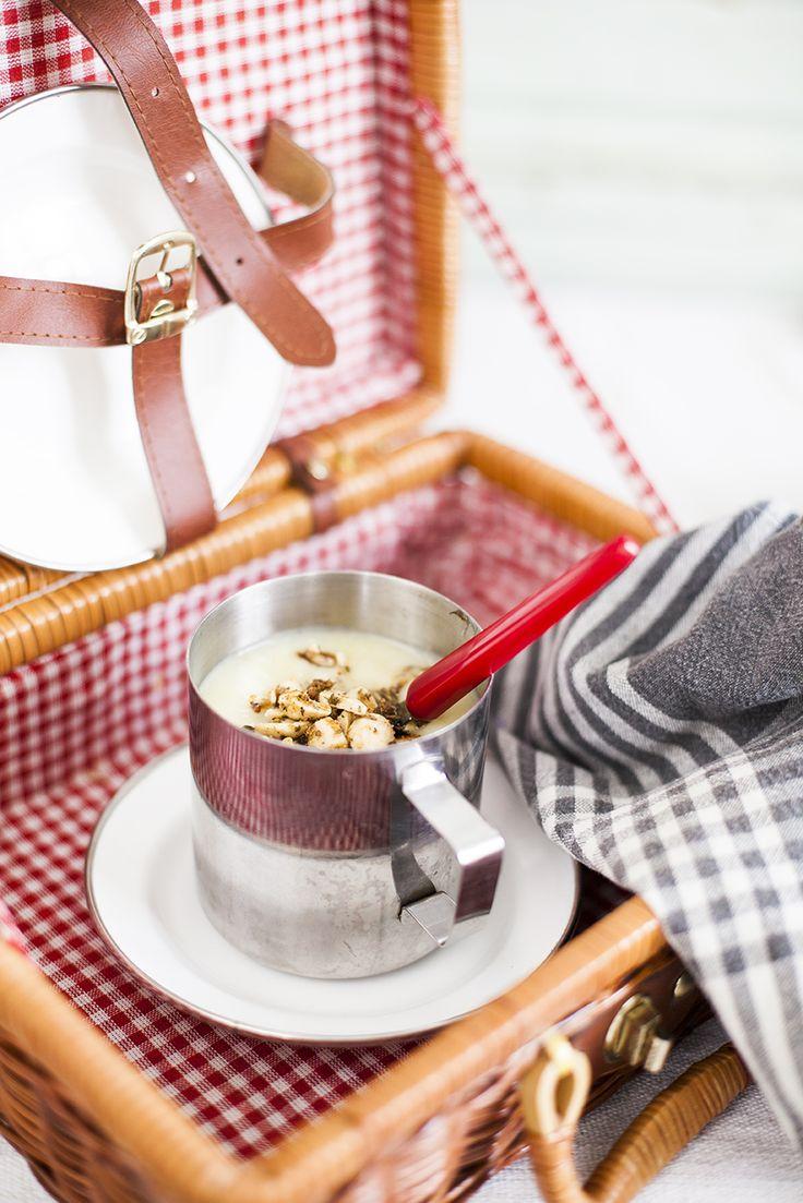 Potatissoppa, perfekt i termosen på utflykten: http://martha.fi/sv/radgivning/recept/view-93381-4575