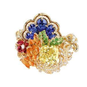 「ディオール」ヴェルサイユ宮殿の庭園が着想のハイジュエリー、瑞々しい草花をダイヤモンドやエメラルドで - 画像10