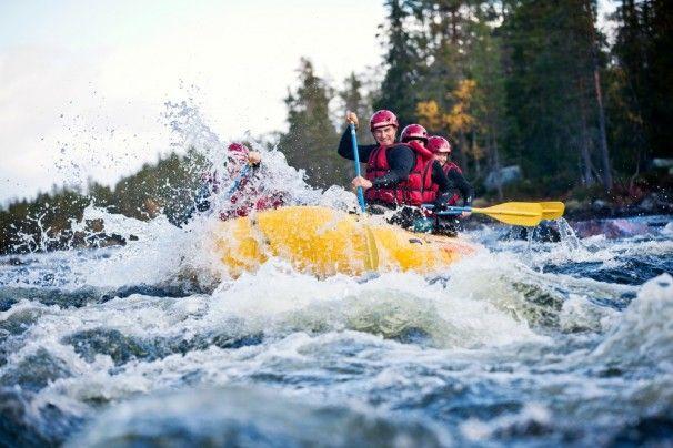 Rafting mit TrysilGuidene in der Region #Hedmark, #Norwegen © Øyvind Lund  - http://www.nordicmarketing.de/trysilguidene/