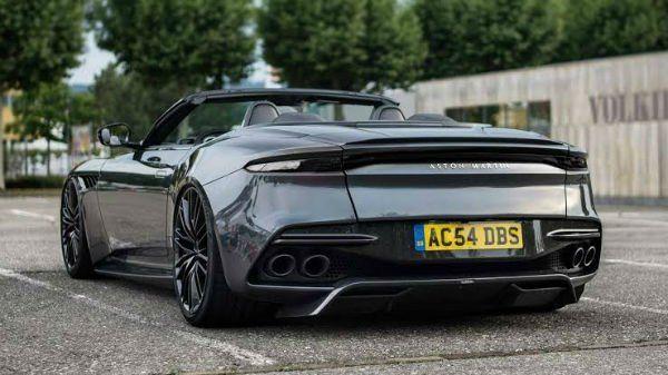 2020 Aston Martin Dbs Superleggera Convertible Aston Martin Dbs Aston Martin Superleggera