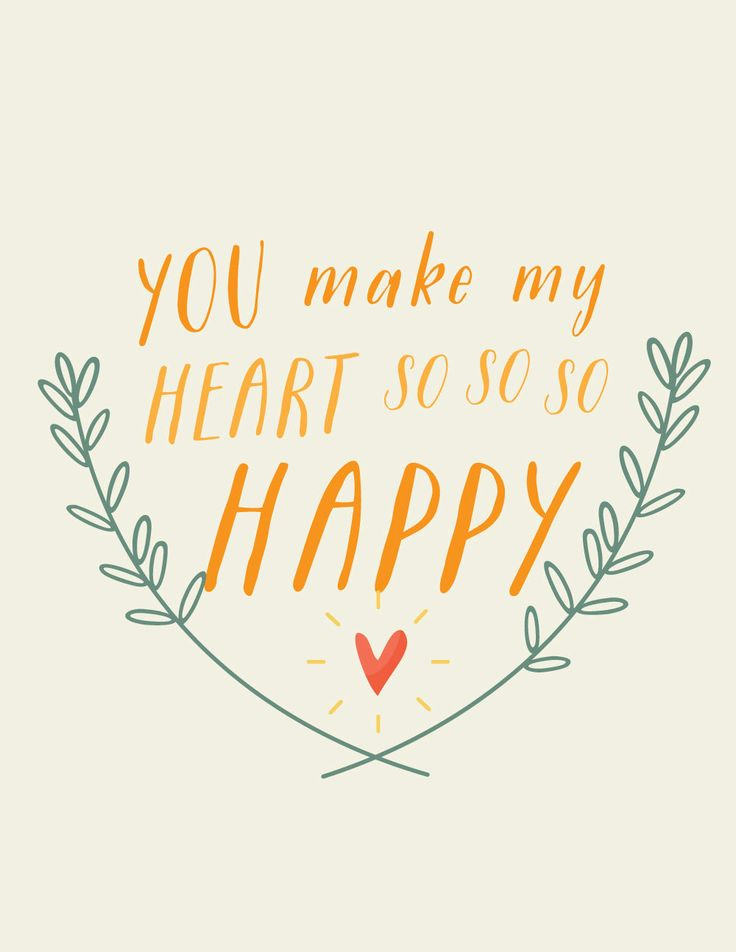 You Make My Heart SO SO SO Happy ~ Petit Ink