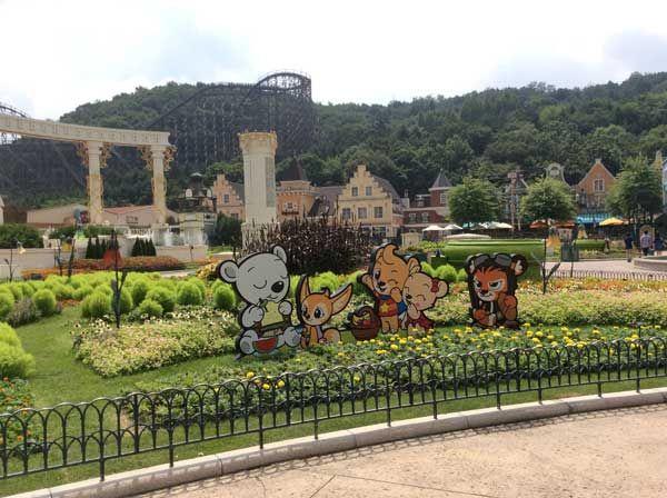 Envie de s'amuser à Séoul ? Le parc d'attractions Everland satisfera les petits et les grands, le parc est immense et propose un grand nombre d'attractions.