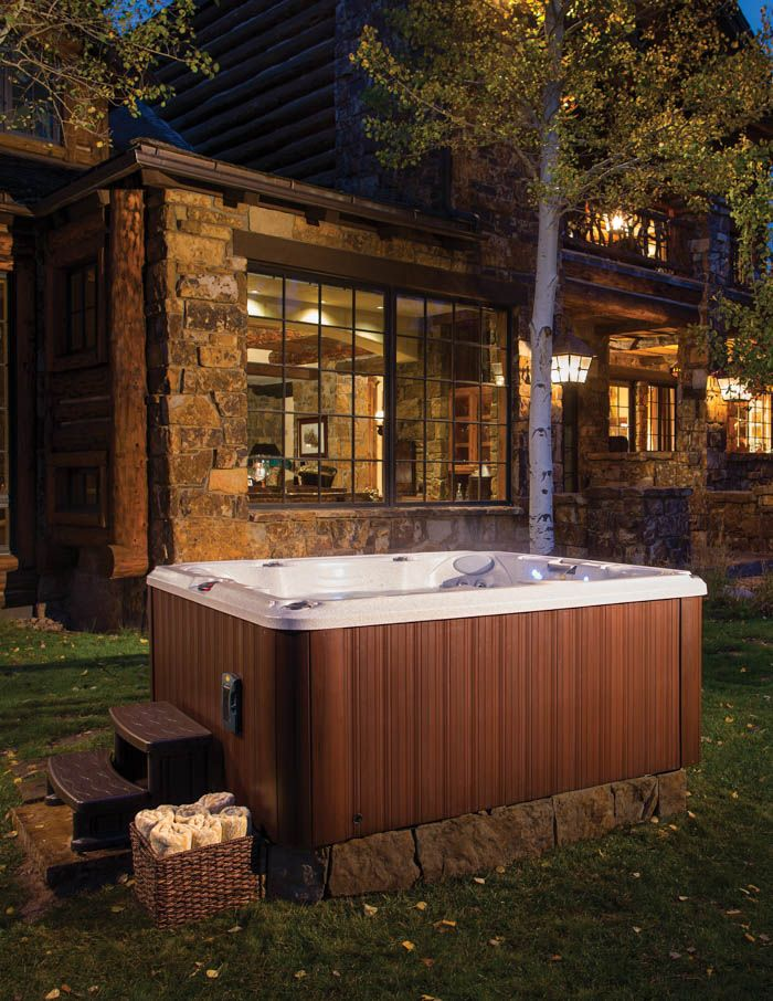 J-200 series, available at Eden Spas Jacuzzi. Has one of the best hot tubs collection in Prince George, BC.