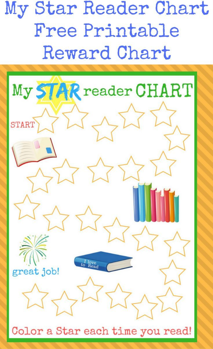 Impertinent image inside printable reading chart