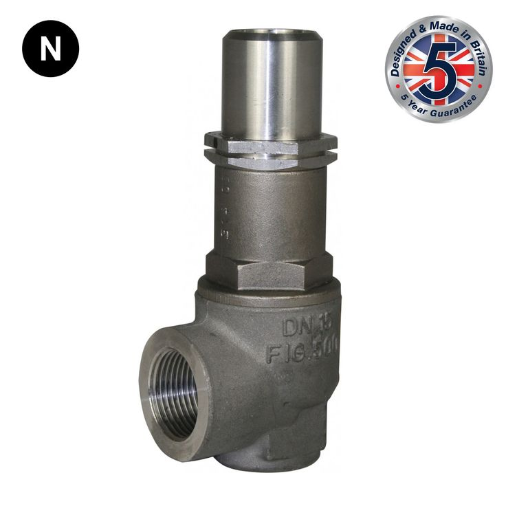 Nabic Fig 500FN High Lift Stainless Steel Safety Valve