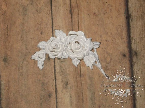 DIY Furniture Appliques - Paint to match your project!