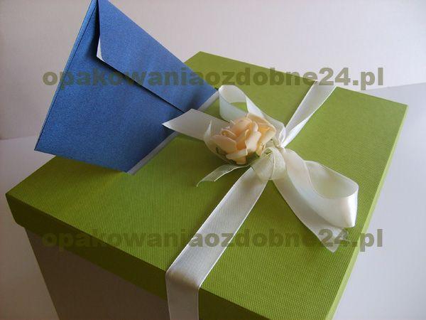 pudełka na koperty 30x25x20