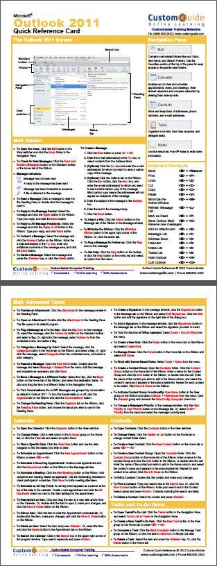 microsoft word 2007 cheat sheet pdf