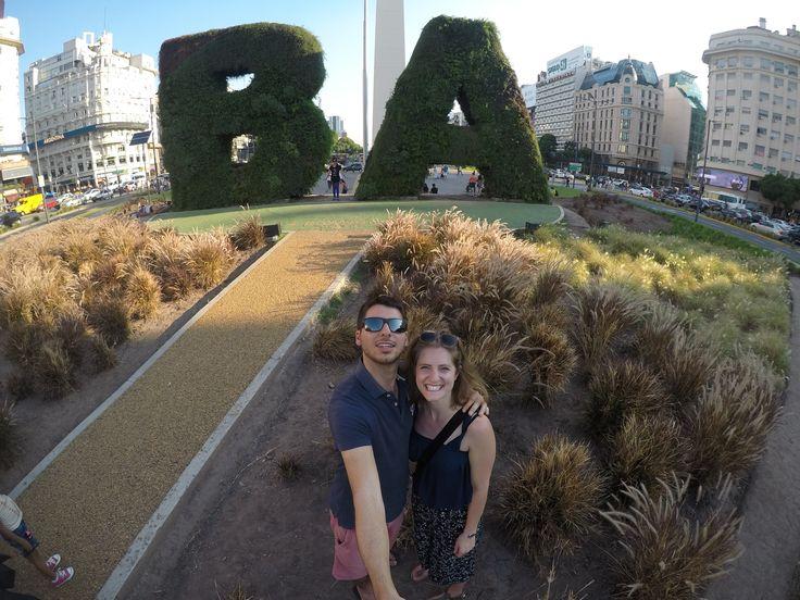 Francesca and Scott Hemeryc, from Belgium, #enjoying their #visit to #BuenosAires. #viajeros #felices #happy #travelers #viaje #viajando #Sudamerica #vacaciones #felicidad #travel #enjoy #traveling #Southamerica #smile #BuenosAires #honeymoon #viajedenovios