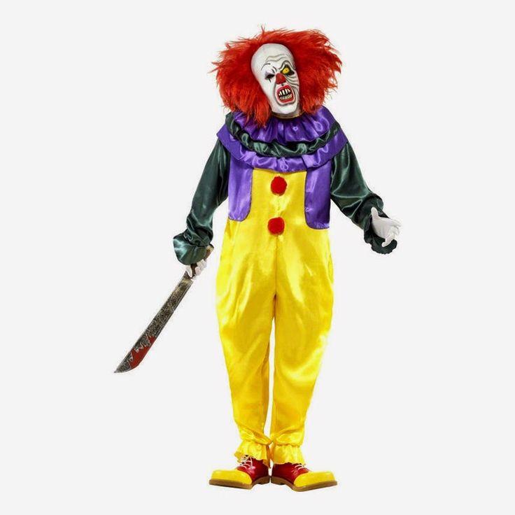 Fashion World: Get Redy For Bloody Halloween Fashion Läskig Clown...
