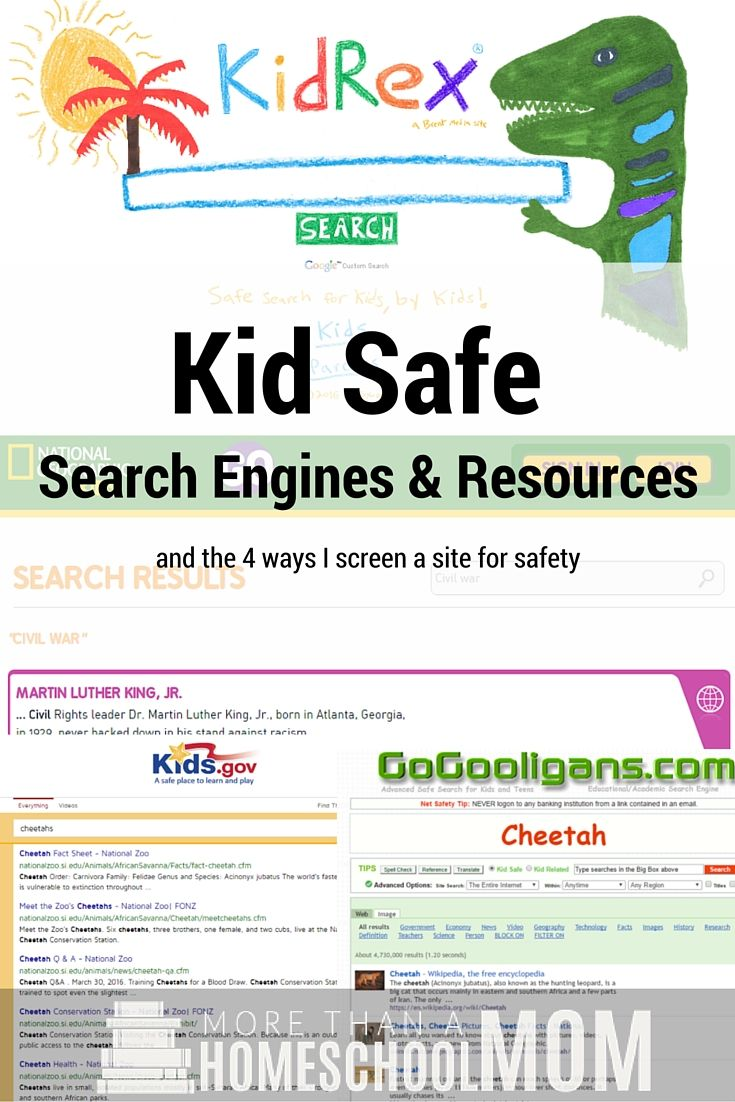 Kid Safe Search Engines Safe search engine, Homeschool