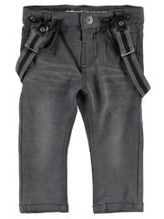 MINI NITELAN SLIM FIT JEANS, Dark Grey Denim