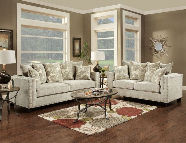 This Large Scale Sofa Are Not Only Fashionable, But Feature Large  Deep Seated Cushions For Superior Comfort. Covered In A Super Soft,  Off White Chenille ...
