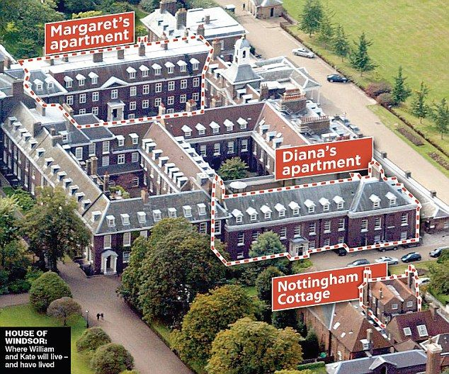State Kensington Palace Photos And Floor Plans Part 1 Of 4 Candle In The Wind Lady Diana Princess Wales Apartments
