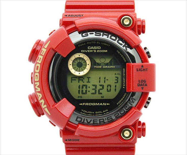 NEW CASIO G-SHOCK FROGMAN GF-8230A-4JR Rising RED 30th Anniversary #GSHOCK