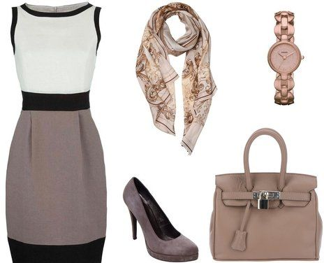 Love the taupe and beige
