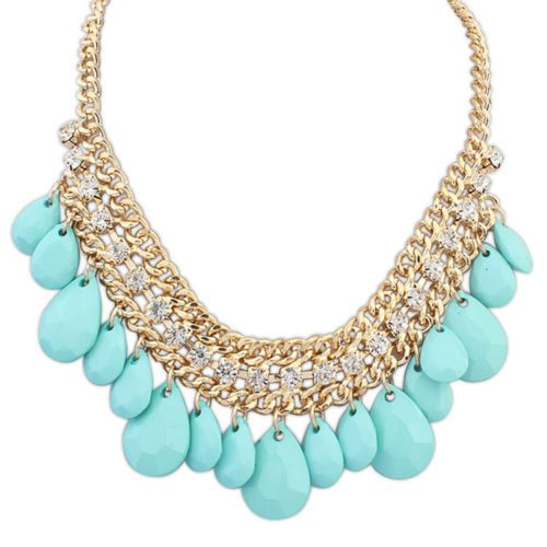 Tessa Glam Bead Necklace