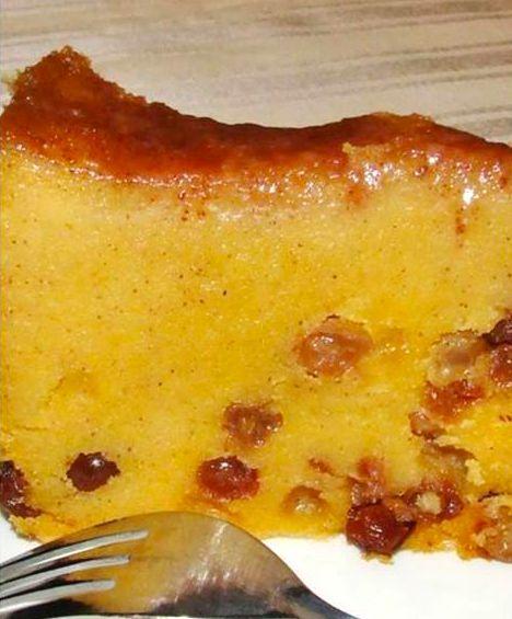 Authentic Jamaican Recipes: Cornmeal Pudding