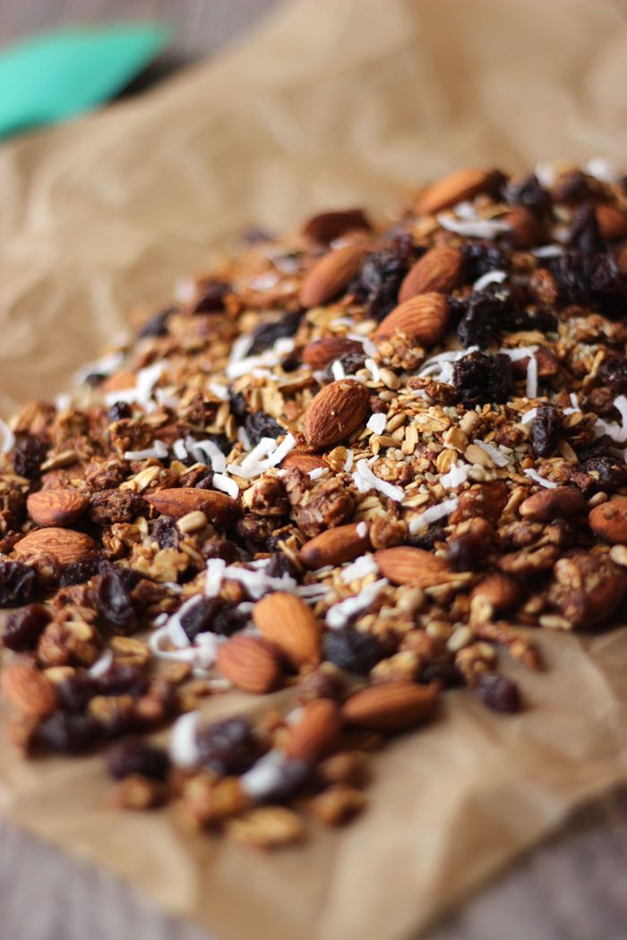 Granola is one of my favourite foods to make because it can be customized with the ingredients you love, or even tossed together with whatever you have left in your pantry. You can fill it with fun toppings like dried blueberries, pistachios or even my new go-to fruit; golden berries, which taste like sour patch...Read More »