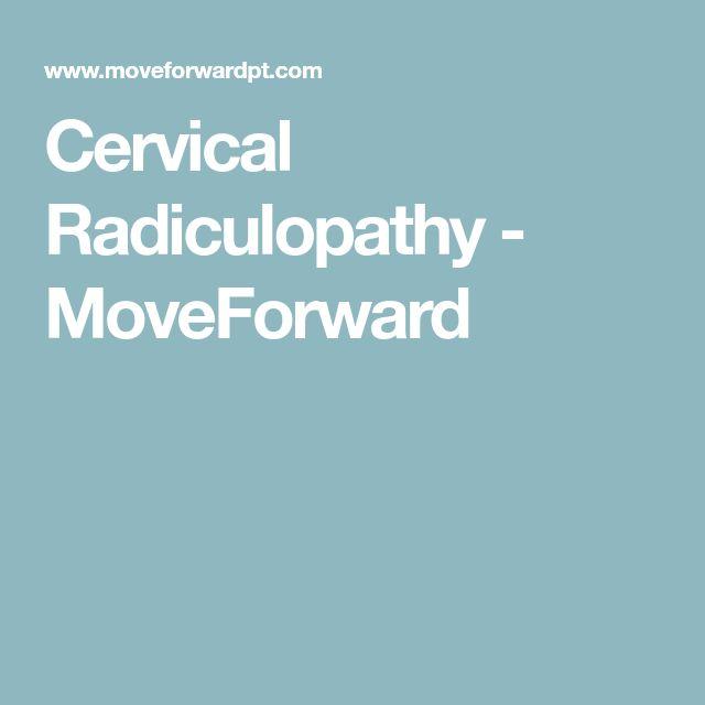 Cervical Radiculopathy - MoveForward
