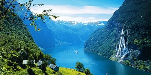 849 € -- Norwegen: 11-täg. Autorundreise mit Fähre & Hotels