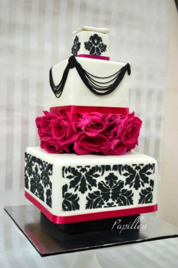 Wedding Cakes - Delicious 4 Tier Cake By Papillon   WedMeGood Vintage Inspiration 4 layer cake! Check Out More By Papillon on wedmegood.com #wedmegood #weddingcakes #cakes