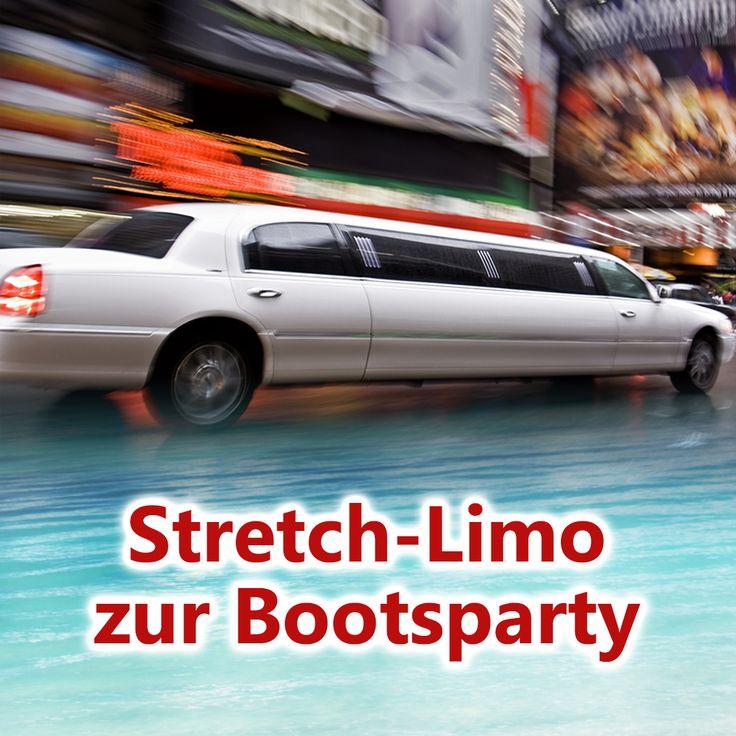 Wolltet ihr schon immer mal mit einer Stretch-Limousine fahren? Wie wäre es mit einer Tour durch Hamburg und das auch noch zum Sonderpreis? Fahrt eine Stunde durch unsere wunderschöne Hansestadt, vom Hauptbahnhof bis zu unserem Partyboot an den Landungsbrücken, und lasst euch chauffieren wie die Stars! :)  #Bootsparty #Hamburg #Partyschiff #Partyboot #Discoschiff #Landungsbrücken