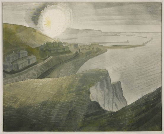 White Cliffs - Eric Ravilious