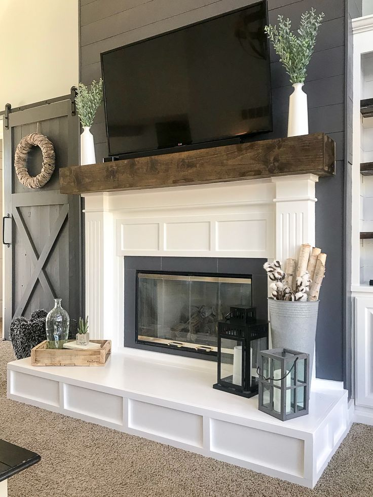 How To Build A Raised Fireplace Hearth Repurpose Life In 2020 Build A Fireplace Fireplace Hearth Fireplace Design