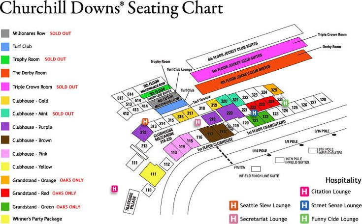 Best 25+ Churchill downs seating chart ideas on Pinterest - seating chart