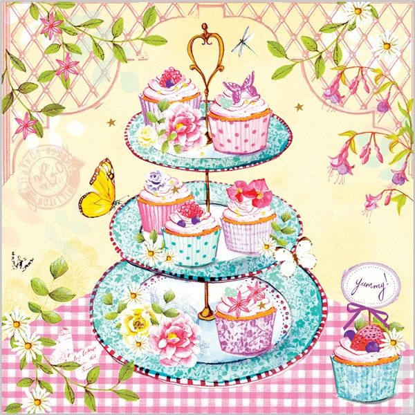 Everyday Ranges » M1343 » Velvet Cupcake - Clare Maddicott Publications - Greeting cards, gift wrap & stationery