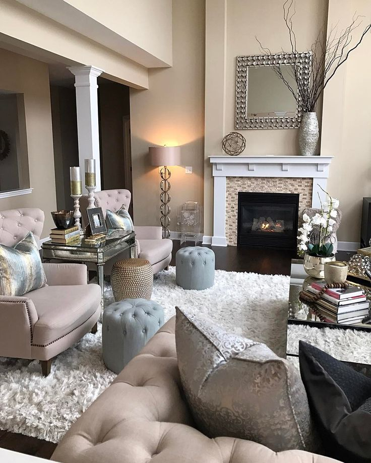 "69.2k Likes, 396 Comments - Interior Design & Home Decor (@inspire_me_home_decor) on Instagram: ""Made some updates in my family room... check out the other angle and sources on @farahjmerhi"""